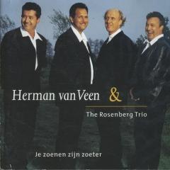 cd Je zoenen zijn zoeter (Herman van Veen en Rosenberg Trio)